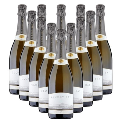 Case of 12 Cloudy Bay Pelorus Sparkling Wine 75cl