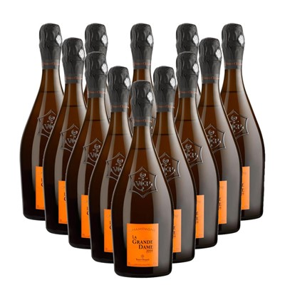 Case of 12 La Grande Dame 2008 Champagne 75cl