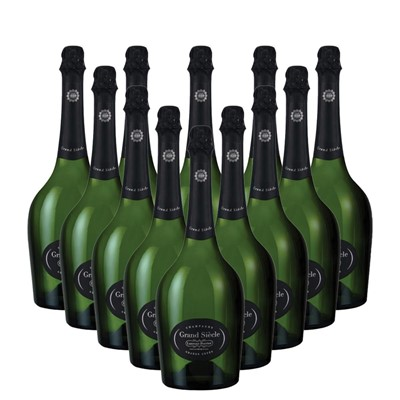 Case of 12 Laurent Perrier Grand Siecle Champagne 75cl