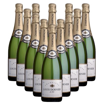 Case of 12 Louis Dornier and Fils Champagne 75cl