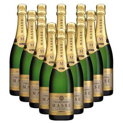 Case of 12 Masse Brut Champagne 75cl