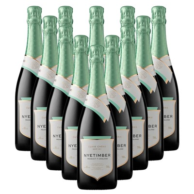 Case of 12 Nyetimber Demi-Sec English Sparkling Wine 75cl