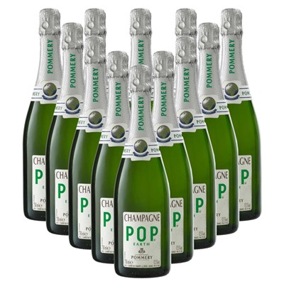 Case of 12 Pommery Pop Earth Champagne 75cl