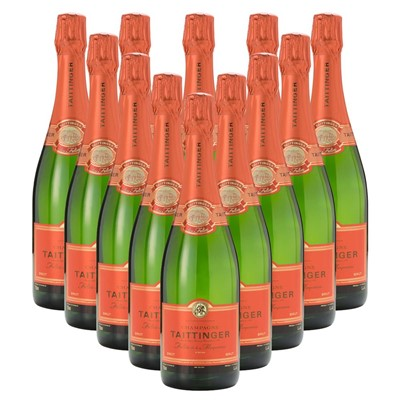 Case of 12 Taittinger Les Folies de la Marquetterie 75cl