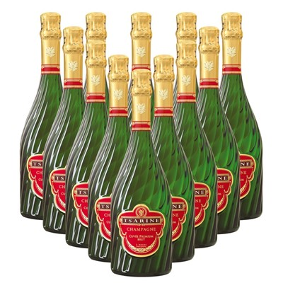 Case of 12 Tsarine Cuvee Premium Brut NV 75cl