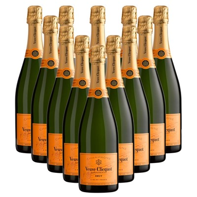 Case of 12 Veuve Clicquot Brut Champagne 75cl
