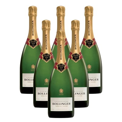 Case of 6 Bollinger Special Cuvee, Champagne 75cl (6x75cl)