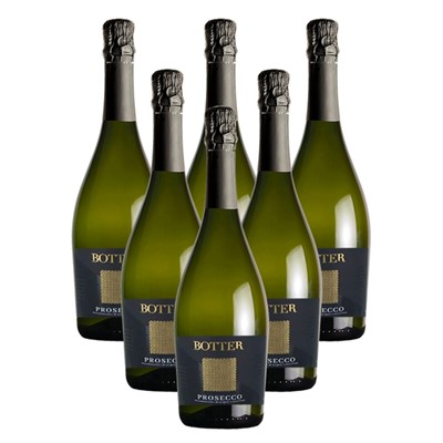 Case of 6 Botter Prosecco 75cl (6x75cl)