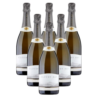 Case of 6 Cloudy Bay Pelorus Sparkling Wine 75cl (6x75cl)
