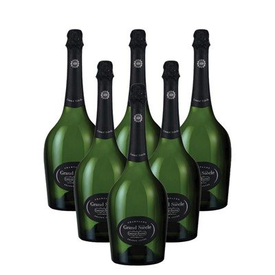 Case of 6 Laurent Perrier Grand Siecle Champagne 75cl (6x75cl)