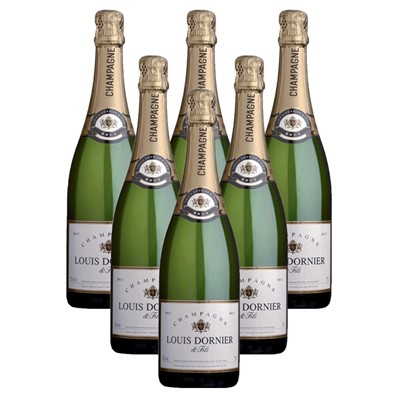 Case of 6 Louis Dornier and Fils Champagne 75cl (6x75cl)