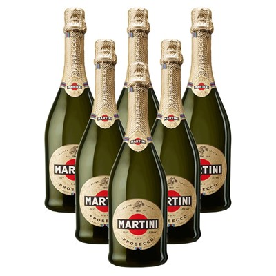 Case of 6 Martini DOC Prosecco 75cl (6x75cl)