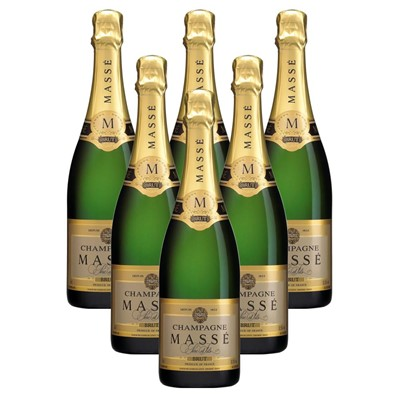 Case of 6 Masse Brut Champagne 75cl (6x75cl)