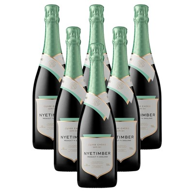 Case of 6 Nyetimber Demi-Sec English Sparkling Wine 75cl (6x75cl)