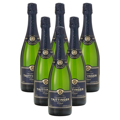 Case of 6 Taittinger Prelude Grands Crus Champagne 75cl (6x75cl)