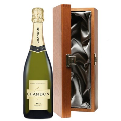 Chandon Brut Sparkling Wine 75cl in Luxury Gift Box