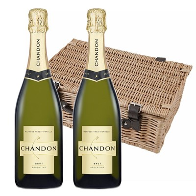 Chandon Brut Sparkling Wine 75cl Twin Hamper (2x75cl)