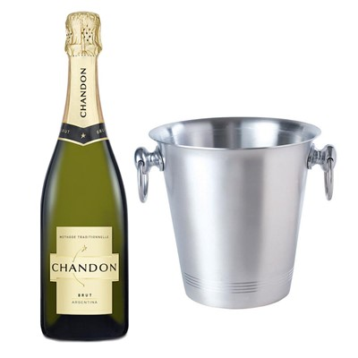 Chandon Brut Sparkling Wine 75cl With Ice Bucket Set