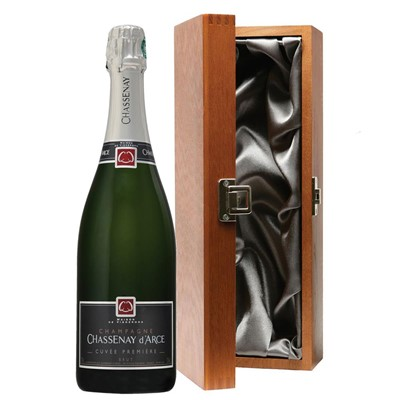 Chassenay d'Arce Cuvee Premiere Brut Champagne 75cl in Luxury Gift Box