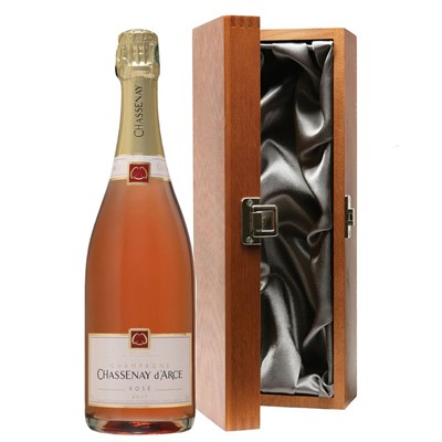 Chassenay d'Arce Rose Champagne 75cl in Luxury Gift Box
