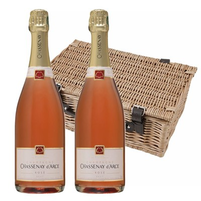 Chassenay d'Arce Rose Champagne 75cl Twin Hamper (2x75cl)