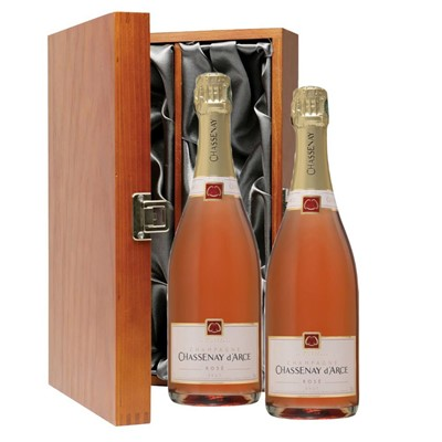 Chassenay d'Arce Rose Champagne 75cl Twin Luxury Gift Boxed (2x75cl)