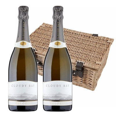 Cloudy Bay Pelorus Sparkling Wine 75cl Twin Hamper (2x75cl)