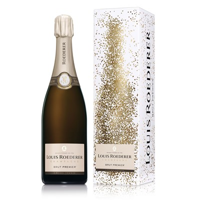 Buy Send a single bottle of Louis Roederer Brut Premier NV Champagne 75cl Presented in a stylish Gift Box with aGift Card for your personal message A passionate love for the vine retaining the style of each cru ageing it in the wood tasting it without respite waiting patiently for time to perfect man's work thus comes into the world a champagne signed Louis Roederer . Price includes free UK Mainland Delivery, and Exports and international delivery available.