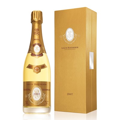 Buy Vintage Champagne a single bottle of Louis Roederer Cristal Vintage 2009 Champagne (75cl) Normally Presented in a Fabulous Gold Presentation case (or alternatively in a Gift Box depending on stock availability at time of ordering) Cristal by Louis Roederer is the worlds most prestigious Champagne. Vintage 2007 is a noted celebrity of the Grande Marques and it has the cachet of pure indulgence and opulence. You have to try this one at least once! . Price includes free UK Mainland Delivery, and Exports and international delivery available.