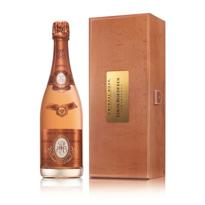 Buy a Magnum of Louis Roederer Cristal Rose 1.5 litres Presented in a Louis Branded Presentation case. Limited stock availability. Export delivery price available on application .Note: Please Allow 2 to 3 days for delivery. Price includes free UK Mainland Delivery, and Exports and international delivery available.