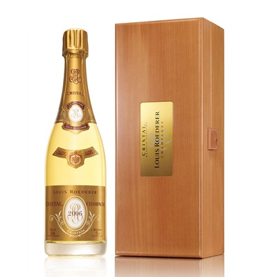 Buy a Magnum of Louis Roederer Cristal 1.5 litres Presented in a Louis Branded Presentation case. Limited stock availability. Export delivery price available on application . . Price includes free UK Mainland Delivery, and Exports and international delivery available.