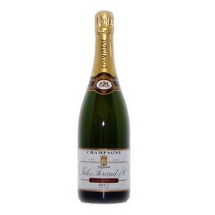 Buy Send a single bottle of Jules Feraud Brut NV Champagne 75cl Presented in a stylish Gift Box with Gift Card for your personal message, Delicacy combined with a rich full flavour refreshing and lively a must try! . Price includes free UK Mainland Delivery, and Exports and international delivery available.