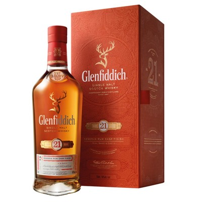 Glenfiddich 21 Year Old Gran Reserve Whisky 70cl