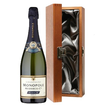 Heidsieck & Co. Monopole Premier Cru Brut Champagne 75cl in Luxury Gift Box