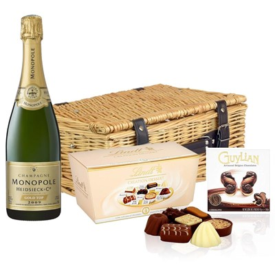 Heidsieck & Co. Monopole Vintage Champagne 75cl And Chocolates Hamper
