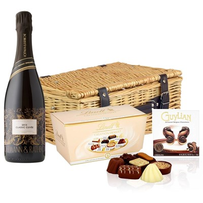 Hoffmann And Rathbone Classic Cuvee And Chocolates Hamper