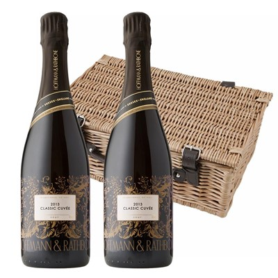 Hoffmann And Rathbone Classic Cuvee Twin Hamper (2x75cl)