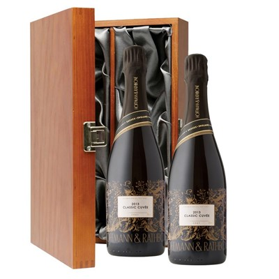 Hoffmann And Rathbone Classic Cuvee Twin Luxury Gift Boxed (2x75cl)