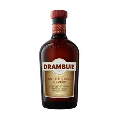 Buy 70cls The liqueur of Prince Charles Edward Stewart.  Liqueur New Era Drambuie is the original Scotch Whisky honey liqueur. It is a blend of fine Scotch Whiskies, spies and honey. Recently rebranded. Price includes free UK Mainland Delivery, and Exports and international delivery available.