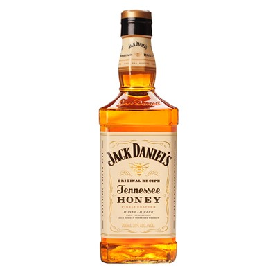 Jack Daniels Tennessee Honey Whiskey Liqueur. Price includes free UK Mainland Delivery, and Exports and international delivery available.