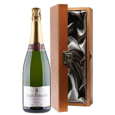 Jules Feraud Brut Champagne 75cl in Luxury Gift Box