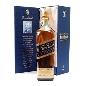 Buy a bottle of Johnnie Walkers most prestigious whisky. Probably The most famous super premium blend made up of the finest old aged malt and grain whiskies. Price includes free UK Mainland Delivery, and Exports and international delivery available.