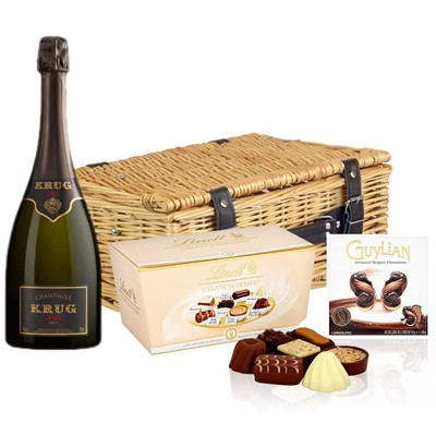 Krug Prestige 2004 Vintage Champagne 75cl And Chocolates Hamper
