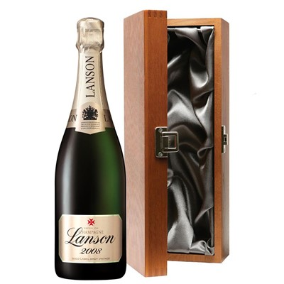Lanson Gold Label 2008 Vintage Champagne 75cl in Luxury Gift Box