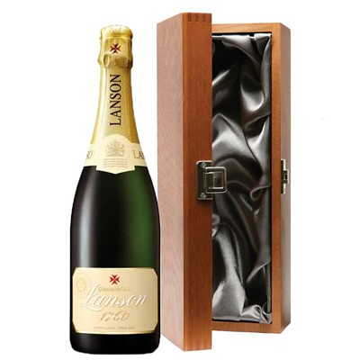 Lanson Ivory Label Demi-Sec Champagne 75cl in Luxury Gift Box