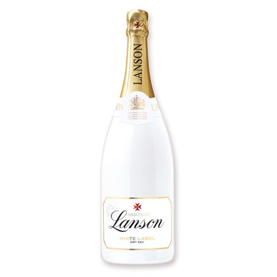 Magnum of Lanson White Label 1.5L Wooden Box  An intensely new drinking concept with new aromatic experiences that are infinitely adaptable This champagne was specially created by Jean Paul Gandon the Wine Maker of Lanson for the last 25 years. The blend allows one to appreciate the natural aromas of the champagne yet enjoying its role of enhancing the aromas. Price includes free UK Mainland Delivery, and Exports and international delivery available.