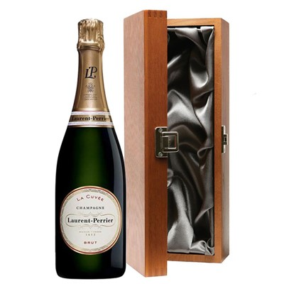 Laurent  Perrier La Cuvee Brut Champagne 75cl in Luxury Gift Box