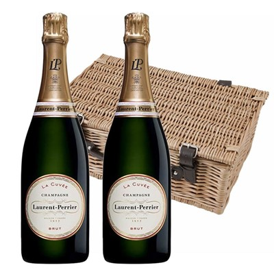 Laurent  Perrier La Cuvee Brut Champagne 75cl Twin Hamper (2x75cl)