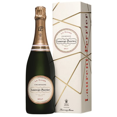 Buy Send Laurent  Perrier La Cuvee Brut 75cl UK Mainland Delivery, and Exports and international delivery available.
