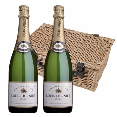 Louis Dornier and Fils Champagne 75cl Twin Hamper (2x75cl)